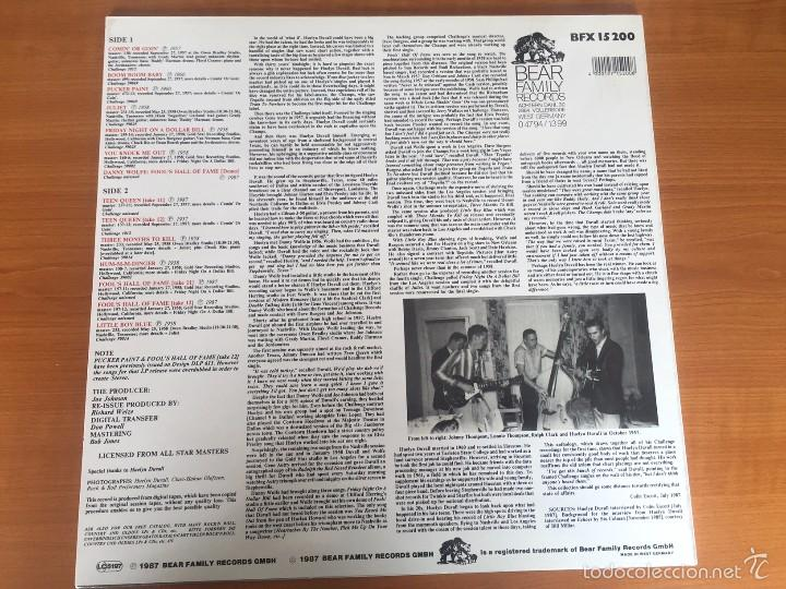 Discos de vinilo: Huelyn Duvall - The Challenge Masters - LP - BEAR FAMILY RECORDS - 1987- GERMANY - Foto 2 - 55094777
