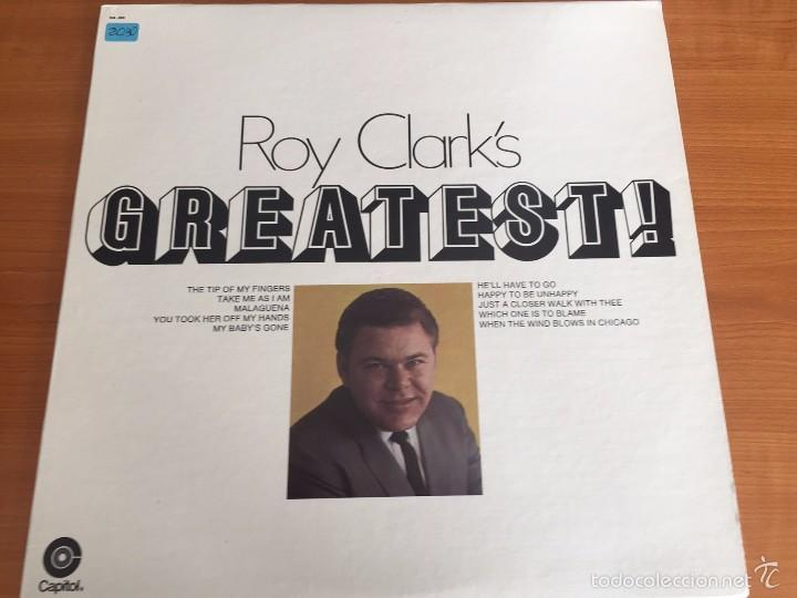 ROY CLARK'S GREATEST - LP- CAPITOL RECORDS- 1969- (Música - Discos de Vinilo - Maxi Singles - Country y Folk)
