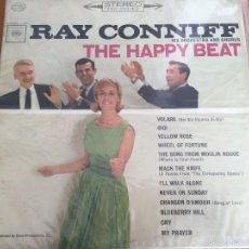 Discos de vinilo: RAY CONNIFF HIS ORCHESTRA AND CHORUS - THE HAPPY BEAT - LP- COLUMBIA CS 8749 - 1963 -US. Lote 55095091