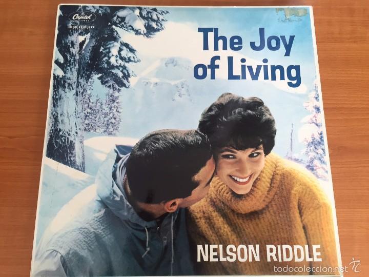NELSON RIDDLE - THE JOY OF LIVING- LP- CAPITOL RECORDS ST 1148 (Música - Discos de Vinilo - Maxi Singles - Pop - Rock Extranjero de los 50 y 60)