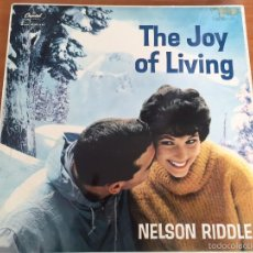 Discos de vinilo: NELSON RIDDLE - THE JOY OF LIVING- LP- CAPITOL RECORDS ST 1148. Lote 55095197