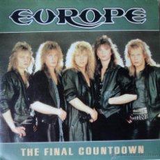 Discos de vinilo: EUROPE - THE FINAL COUNTDOWN - EDICIÓN DE 1986 DE ESPAÑA. Lote 55096120