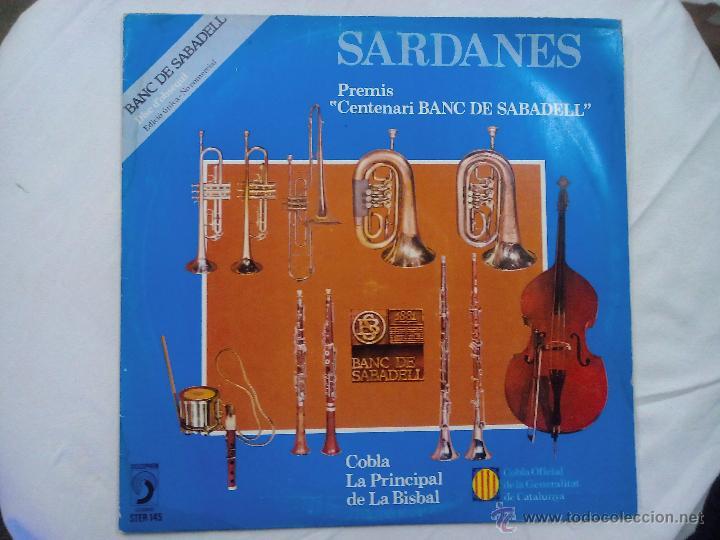 LP. SARDANES. BANC DE SABADELL (Música - Discos - LP Vinilo - Otros estilos)
