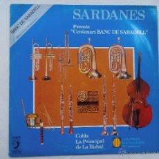 Discos de vinilo: LP. SARDANES. BANC DE SABADELL. Lote 55102031