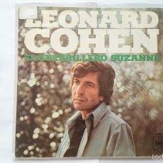 Discos de vinilo: LEONARD COHEN - THE PARTISAN (EL GUERRILLERO) / SUZANNE (1971) (REEDICION). Lote 55106715