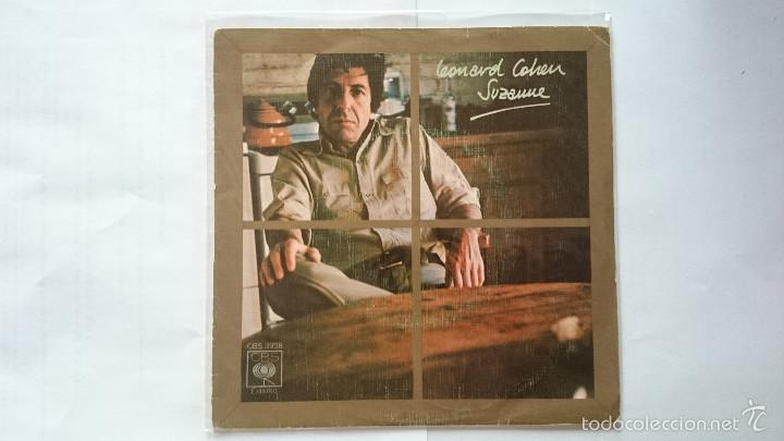 LEONARD COHEN - SUZANNE / WHO BY FIRE (1976) (Música - Discos - Singles Vinilo - Cantautores Extranjeros)