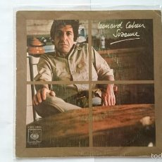 Disques de vinyle: LEONARD COHEN - SUZANNE / WHO BY FIRE (1976). Lote 55106887
