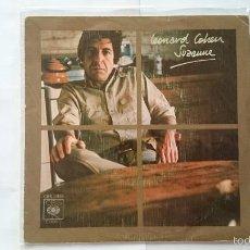 Discos de vinilo: LEONARD COHEN - SUZANNE / WHO BY FIRE (1976). Lote 55106887