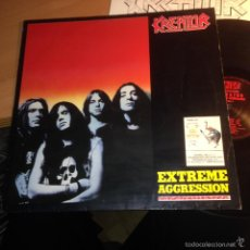 Discos de vinilo: KREATOR (EXTREME AGGRESSION) LP 1989 ALEMANIA (VIN21). Lote 55107184