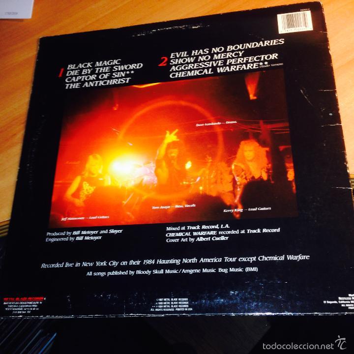 Discos de vinilo: SLAYER (LIVE UNDEAD) LP 1987 USA (VIN21) - Foto 3 - 55108040