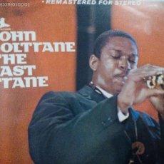 Discos de vinilo: JOHN COLTRANE THE LAS TRANTE LP SPAIN. Lote 55108347