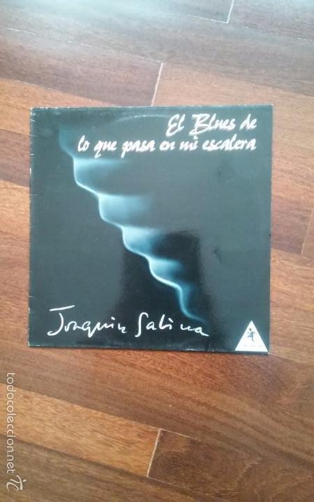 JOAQUIN SABINA-EL BLUES DE LO QUE PASA EN MI ESCALERA.MAXI (Música - Discos de Vinilo - Maxi Singles - Solistas Españoles de los 70 a la actualidad)