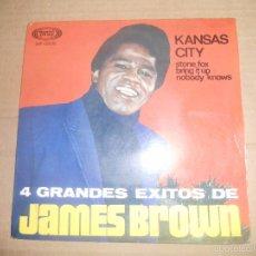 Discos de vinilo: JAMES BROWN (EP) KANSAS CITY AÑO 1967. Lote 55115643