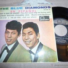 Discos de vinilo: THE BLUE DIAMONDS - QUE TE DEJE DE QUERER. Lote 55117908