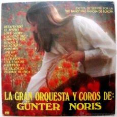 Discos de vinilo: GÜNTER NORIS - LA GRAN ORQUESTA Y COROS DE GÜNTER NORIS - LP ARIOLA 1978 BPY. Lote 86404082
