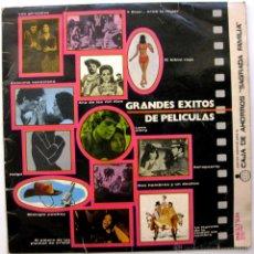 Discos de vinilo: ORQUESTA VLADIMIR ZAROFF / ROY ETZEL - GRANDES EXITOS DE PELICULAS - LP BELTER 1971 BPY. Lote 55120280