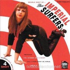 Discos de vinilo: THE IMPERIAL SURFERS - 4 SHOT (SOUNDFLAT RECORDS - SFR-45-020) . Lote 55121701