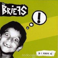 Discos de vinilo: THE BRIEFS / THE SHOCKS - I KNOW / INSEKT (RADIO BLAST RECORDINGS, DIRTY FACES - RBR 058, DF 70) . Lote 55122393