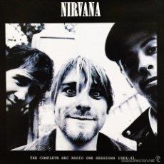 Discos de vinilo: NIRVANA LP THE COMPLETE BBC RADIO ONE SESSIONS 1989-91 VINILO LIVE MUY RARO COLECCIONISTA. Lote 55123751