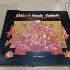 Discos de vinilo: BLACK SABBATH - SABBATH BLOODY SABBATH 1973 EDICION UK INGLATERRA WWA 005. Lote 55128211