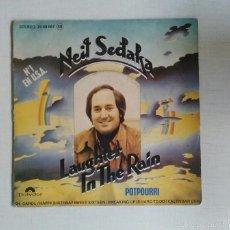 Discos de vinilo: NEIL SEDAKA: LAUGHTER IN THE RAIN/POTPOURRI. Lote 55129312