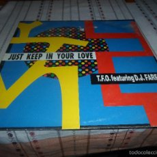 Discos de vinilo: JUST KEEP IN YOUR LOVE. Lote 55138159