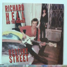Discos de vinilo: RICHARD HELL & THE VOIDOIDS- DESTINY STREET (LP. MUNSTER RECORDS. 2000) VINILO DE 220 GRAM. Lote 55142517