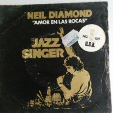 Discos de vinil: NEIL DIAMOND: LOVE ON THE ROCKS/ACAPULCO. Lote 55148029