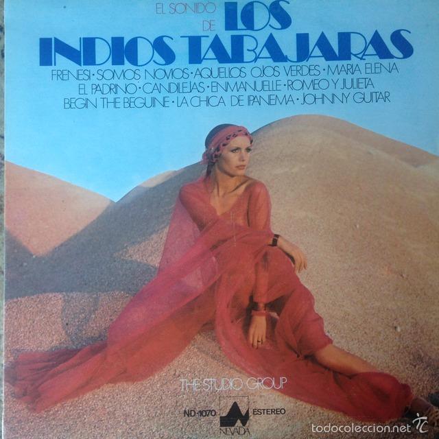 THE STUDIO GROUP - EL SONIDO DE LOS INDIOS TABAJARAS . LP . 1977 NEVADA (Música - Discos - LP Vinilo - Grupos y Solistas de latinoamérica)