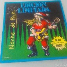 Discos de vinilo: EDICIÓN LIMITADA - NAVIDADES HEAVY-HOUSE MAXI SINGLE 1992 (FOTO CONTRAPORTADA PORTADA DENTRO). Lote 55158284