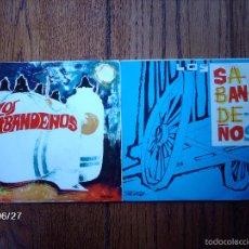 Discos de vinilo: LOS SABANDEÑOS - 2 EPS - TANGANILLO +3 / FOLIAS + TANGO TINERFEÑO. Lote 55161074