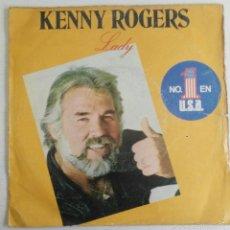 Discos de vinil: KENNY ROGERS: LADY. Lote 55161811