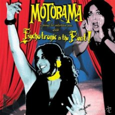 Discos de vinilo: MOTORAMA - PSYCHOTRONIC IS THE BEAT! (RADIATION RECORDS (3) - RR003) . Lote 55162241