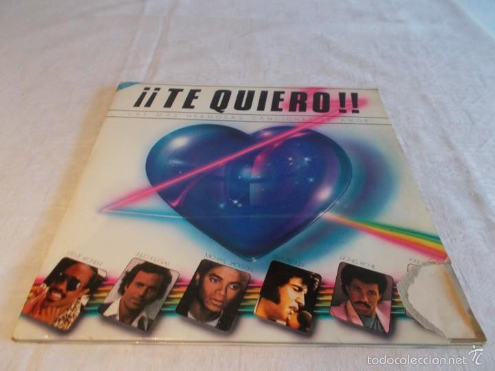 ¡¡ TE QUIERO!! LAS MAS HERMOSAS CANCIONES DE AMOR (Música - Discos - LP Vinilo - Pop - Rock - Extranjero de los 70)