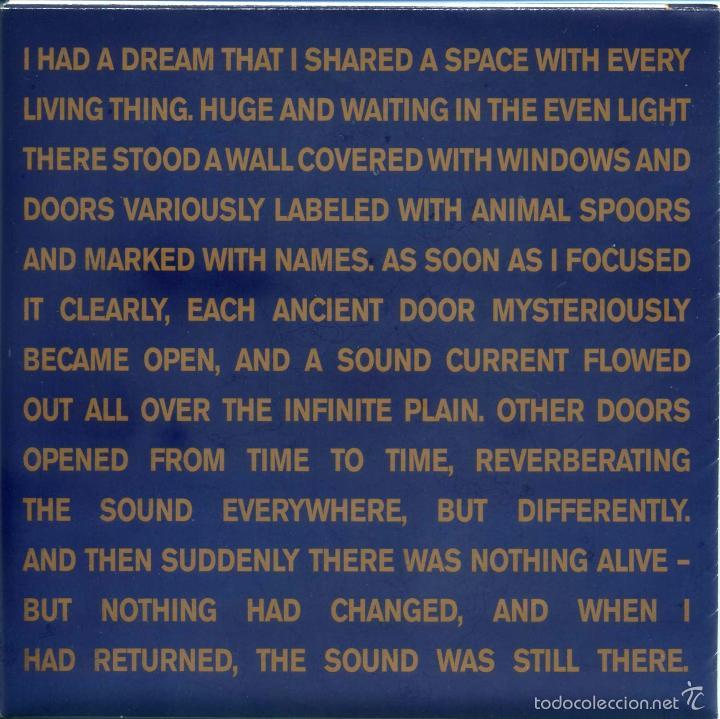 GASTR DEL SOL / TONY CONRAD- THE JAPANESE ROOM AT LA PAGODE / MAY (SINGLE VINILO. TABLE OF THE ELEME (Música - Discos - Singles Vinilo - Electrónica, Avantgarde y Experimental)