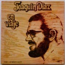 Discos de vinilo: JOAQUÍN DÍAZ, EN VIAJE - LP DE VINILO CON PORTADA ABIERTA O DOBLE. Lote 55180394