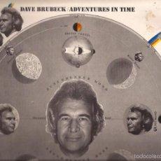 Discos de vinilo: LP-DAVE BRUBECK ADVENTURES IN TIME COLUMBIA 66291 DOBLE LP SPAIN 1971 JAZZ. Lote 55186196