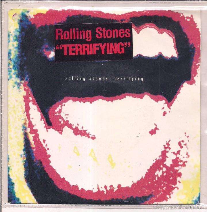 THE ROLLING STONES / TERRIFYING/ WISH I·D NEVER MET YOU. 1989 CBS/ MADE IN HOLLAND (Música - Discos de Vinilo - Singles - Pop - Rock Extranjero de los 80)