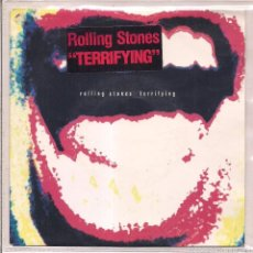 Vinyl records - THE ROLLING STONES / TERRIFYING/ WISH I·D NEVER MET YOU. 1989 CBS/ MADE IN HOLLAND - 55186657