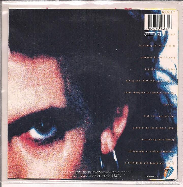 Discos de vinilo: THE ROLLING STONES / TERRIFYING/ WISH I·D NEVER MET YOU. 1989 CBS/ MADE IN HOLLAND - Foto 2 - 55186657