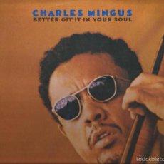 Discos de vinilo: LP-CHARLES MINGUS BETTER GIT IT IN YOUR SOUL COLUMBIA 66290 SPAIN 1971 DOBLE LP JAZZ. Lote 55200964