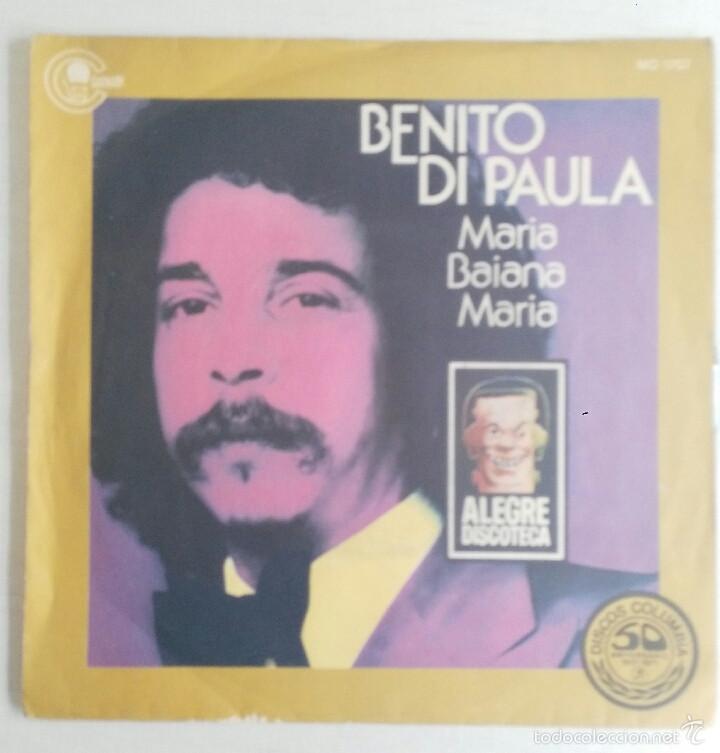 BENITO DI PAULA: MARIA BAIANA MARIA (Música - Discos - Singles Vinilo - Otros estilos)
