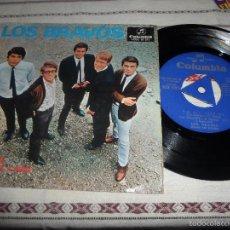 Discos de vinilo: LOS BRAVOS SYMPATHY. Lote 55236150