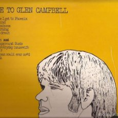 Discos de vinilo: LP-TRIBUTE TO GLENN CAMPBELL ZAFIRO 756 SPAIN 1973 COUNTRY. Lote 55242535