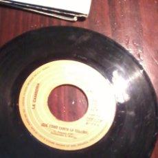 Discos de vinilo: SIN FUNDA. . LA CAMBORIA QUE COMO CANTA LA GALLINA. LA RISA Y EL LLANTO. Lote 55243485