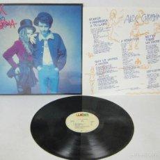 Discos de vinilo: ALEX Y CHRISTINA - ALEX Y CRISTINA - LP - WEA 1988 SPAIN CON LETRAS - MINT. Lote 105825130