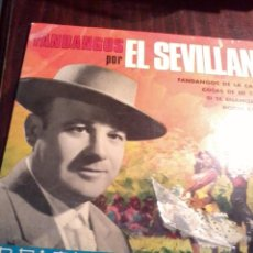 Discos de vinilo: FANDANGOS POR EL SEVILLANO. FANDANGOS DE LA CAMPANA. COSAS DE MI COSECHA. MB3. Lote 55247890