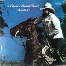 Discos de vinilo: THE CHARLIE DANIELS BAND - NIGHTRIDER - EDICIÓN DE 1975 DE ESPAÑA. Lote 55306070