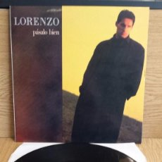 Discos de vinilo: LORENZO. EH,O A E ( PÁSALO BIEN ) MAXI SINGLE / PICAP - 1990 / CALIDAD LUJO.****/**** DIFÍCIL. Lote 55309161