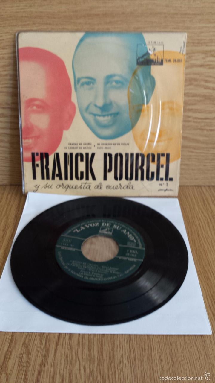 FRANK POURCEL Y SU ORQUESTA DE CUERDA Nº 1. CAMINO DE OTOÑO. EP / AÑOS 50. ***/*** (Música - Discos de Vinilo - EPs - Orquestas)